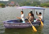 4人手划船