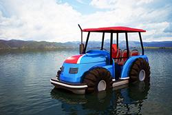 水上拖拉机