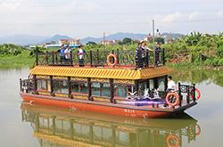 1380双层画舫船