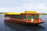 1800豪华画舫船