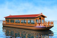 1380豪华画舫船(尖顶)