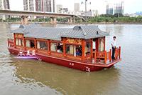 1380豪华画舫船(圆顶)